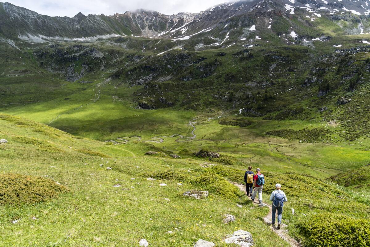 Vallon de Réchy Wandern