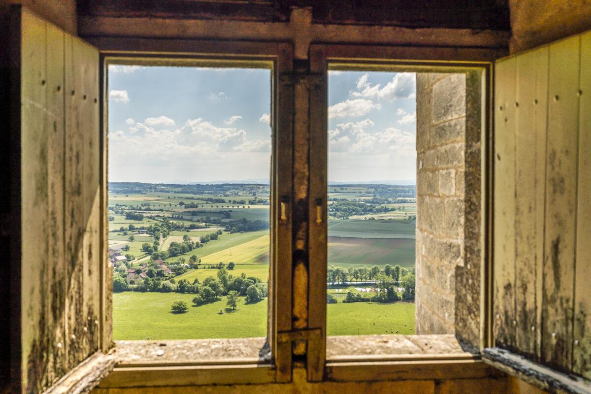 Aussicht Châteauneuf en Auxois