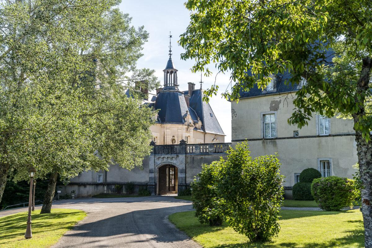 Château de Sainte Sabine Burgund