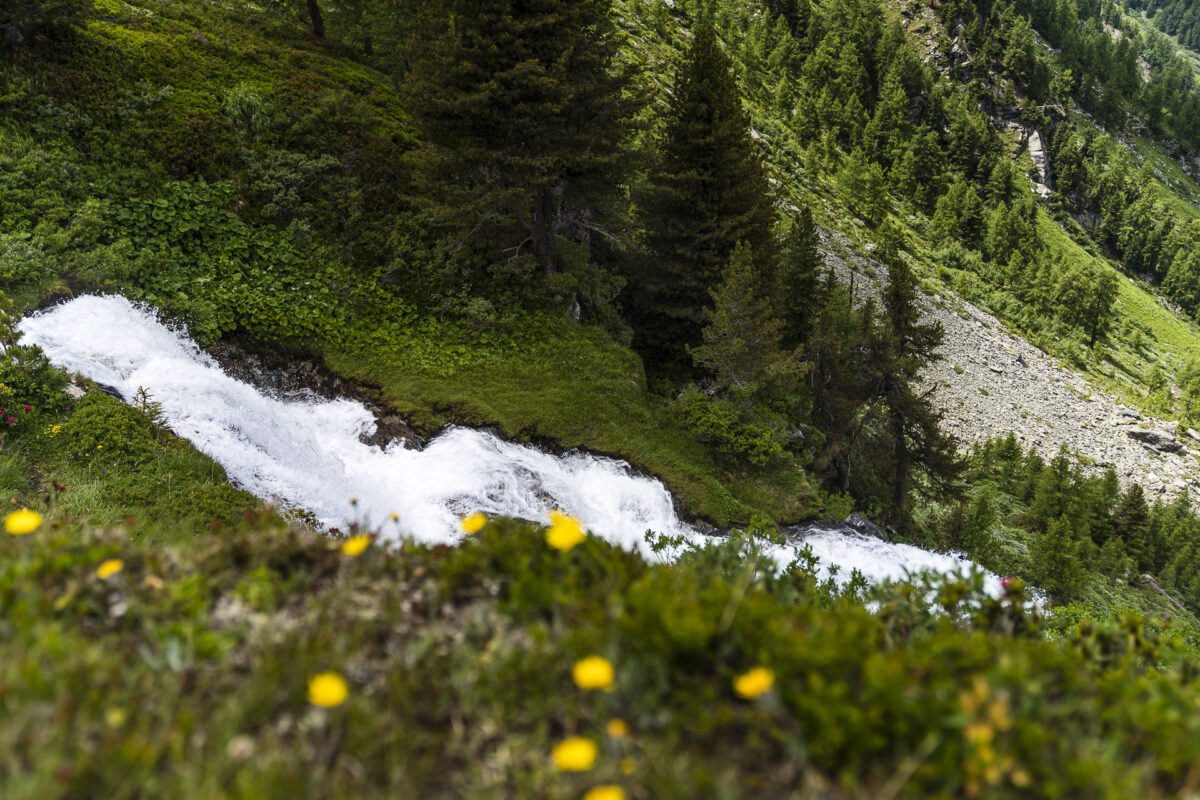 La Rèche Wasserfall