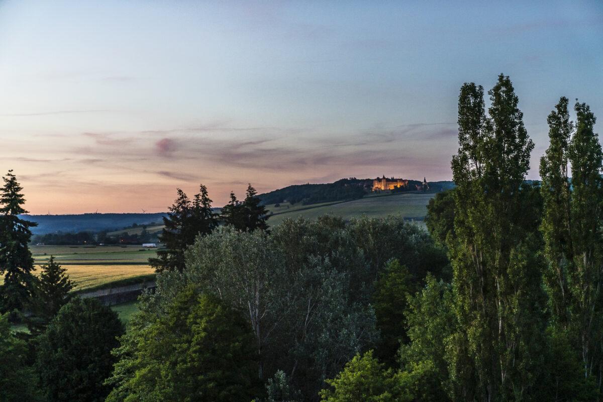 Château de Sainte Sabine Aussicht