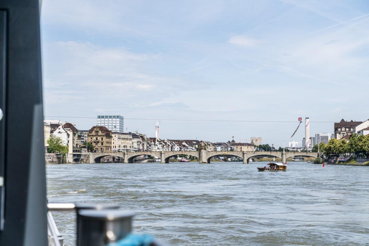 Basel Rhystärn Schifffahrt