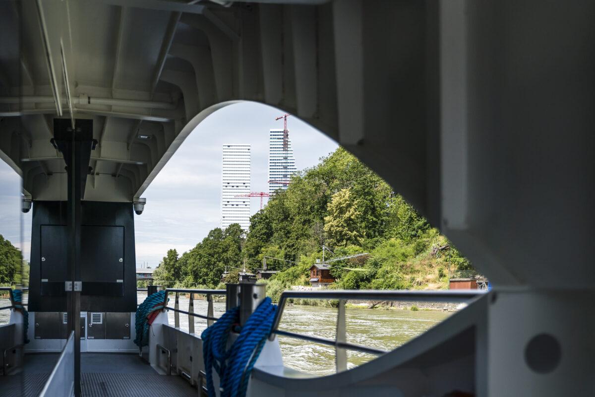 Basel Architektur Rhein