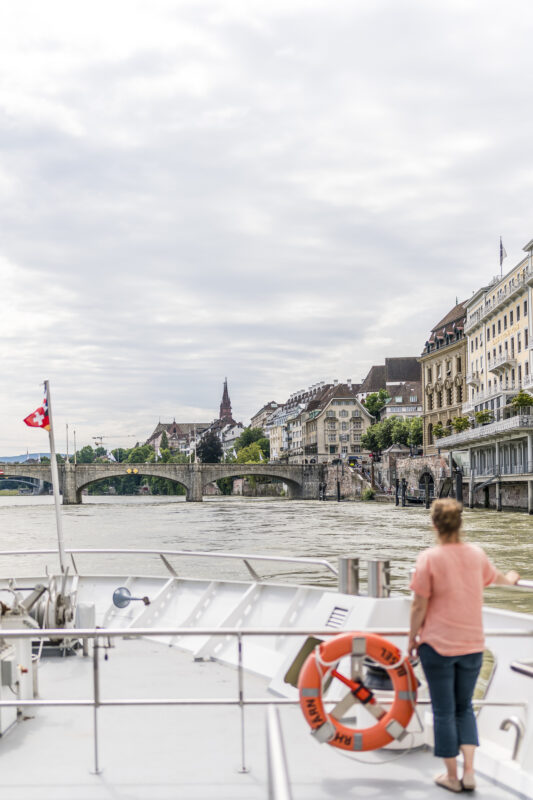 Schifffahrt in Basel
