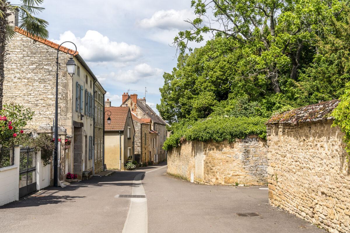 schöne Dörfer Burgund