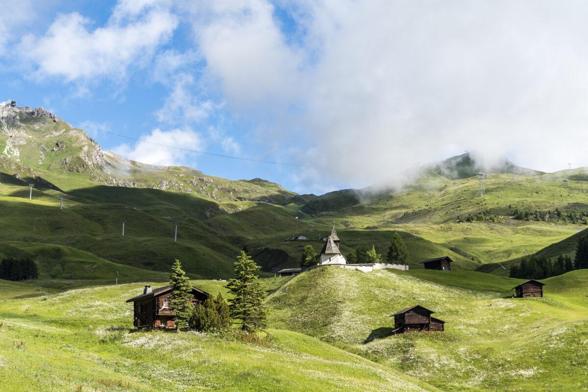 Arosa Alplandschaft