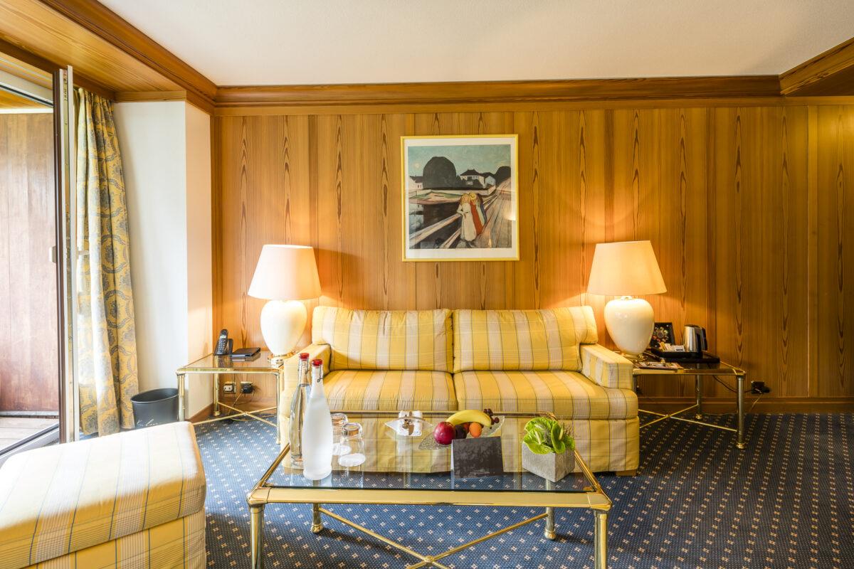 Arosa Kulm Hotel Zimmer