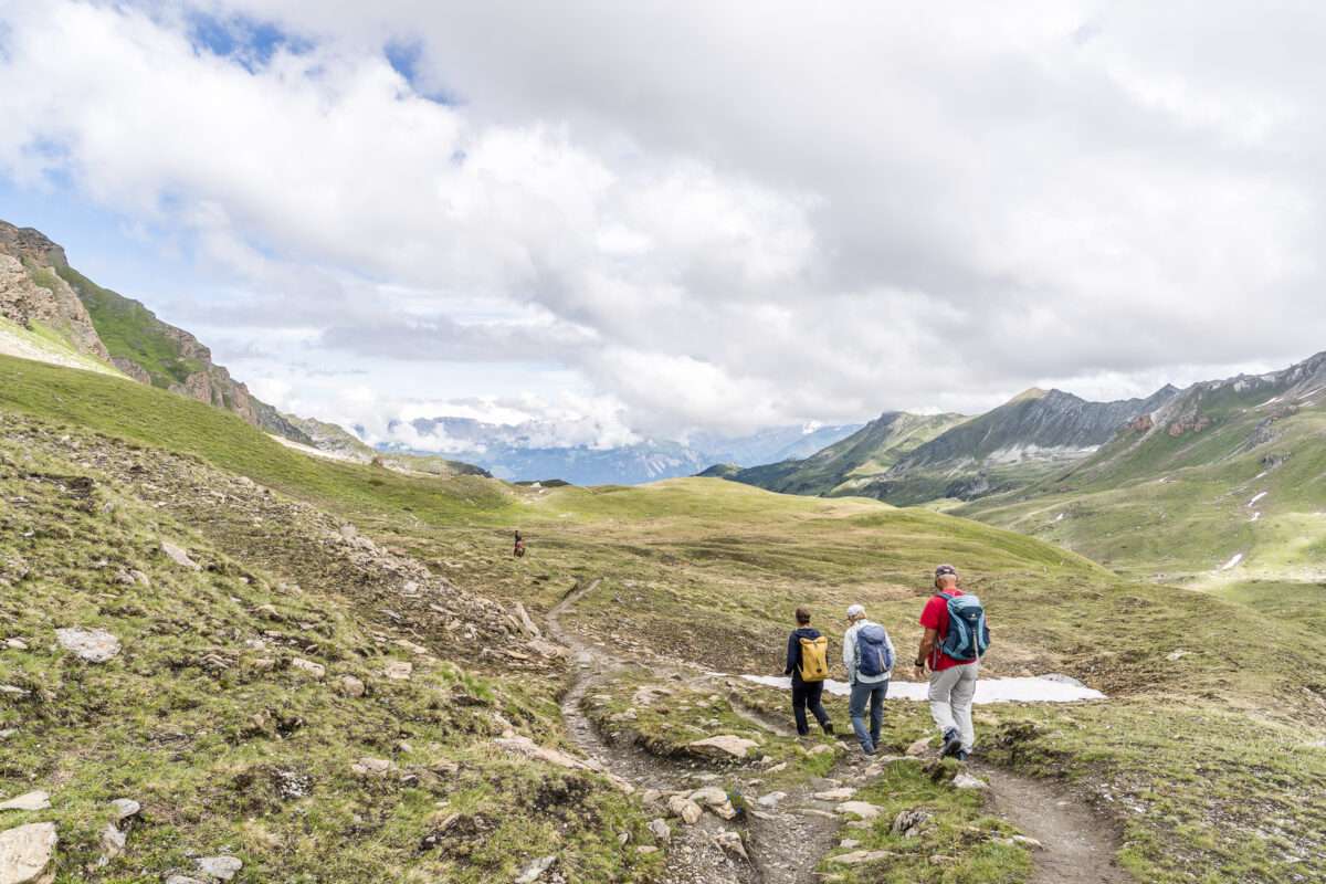 Wandern Vallon de Réchy