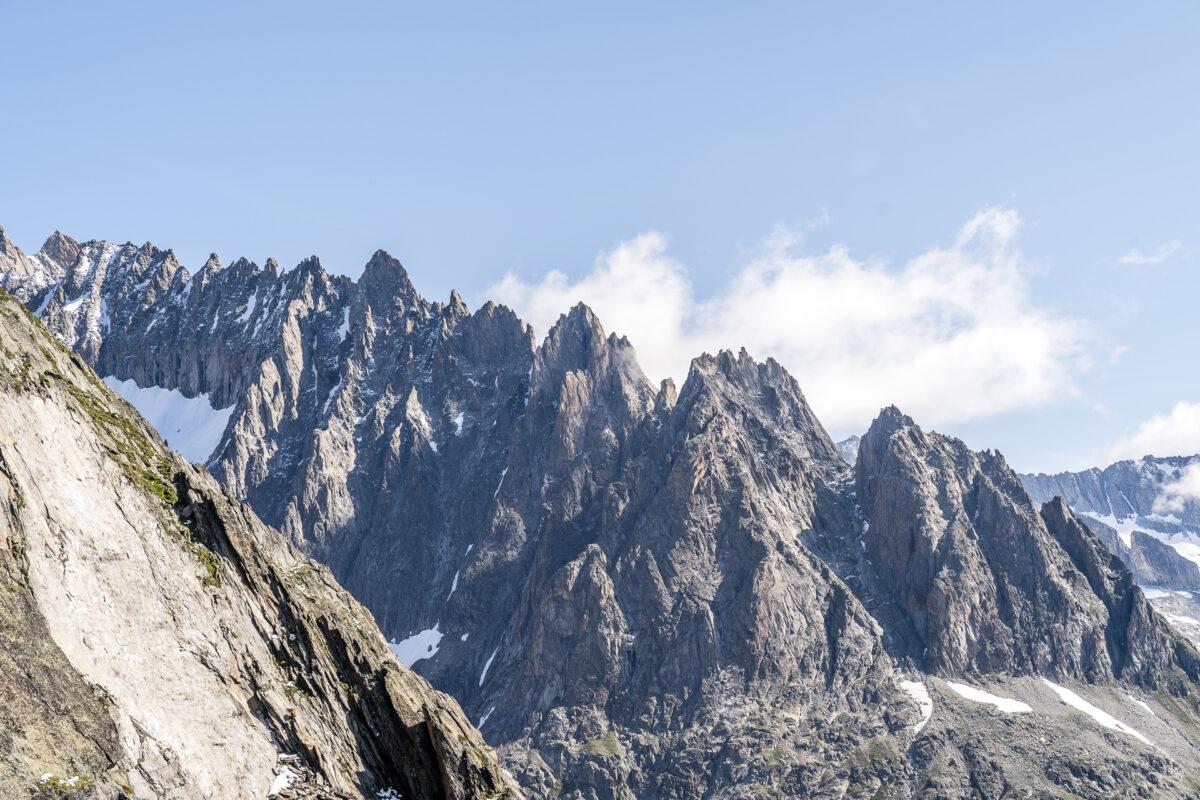 Bergpanorama Belalp