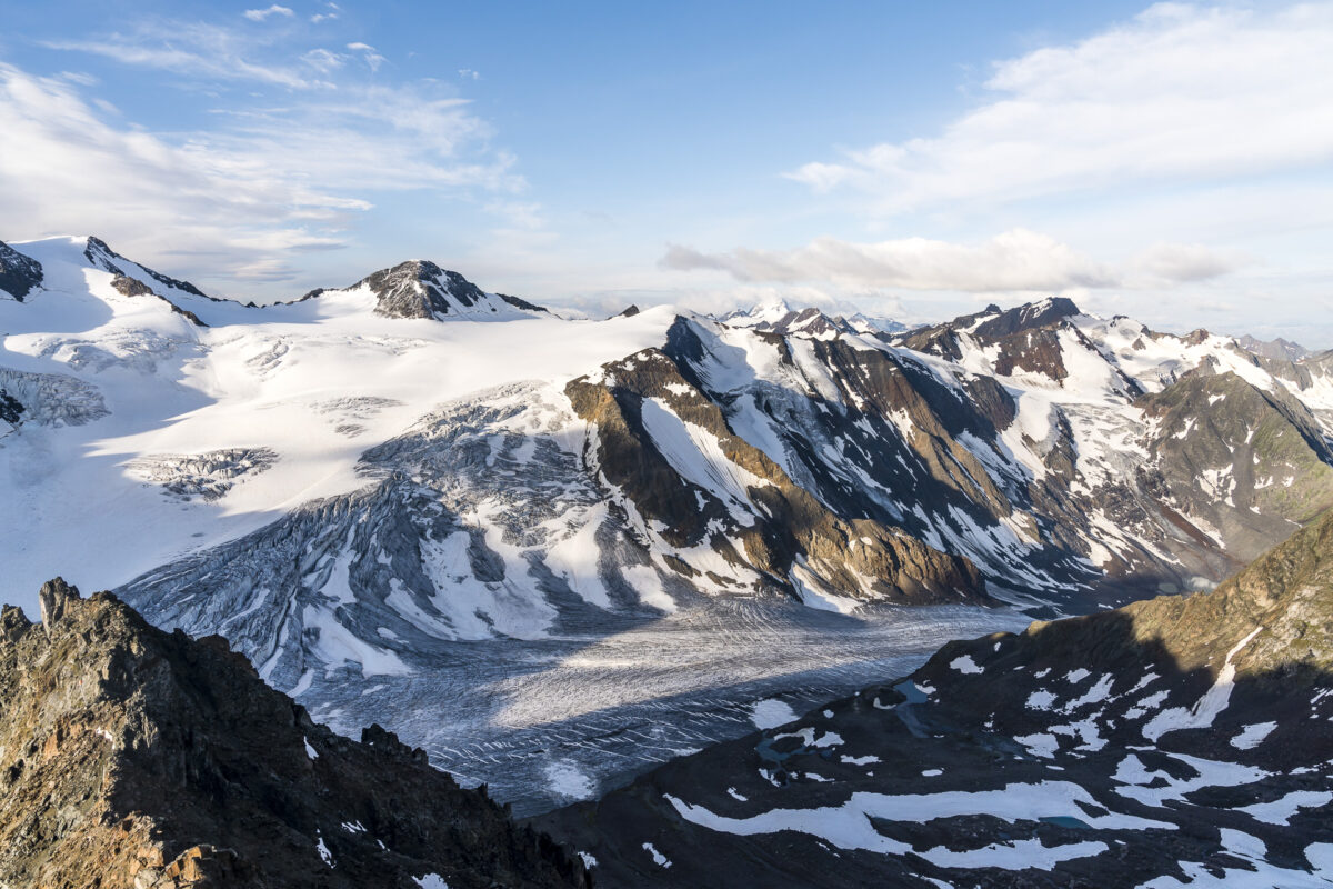 Aussicht Pitztaler Gletscher