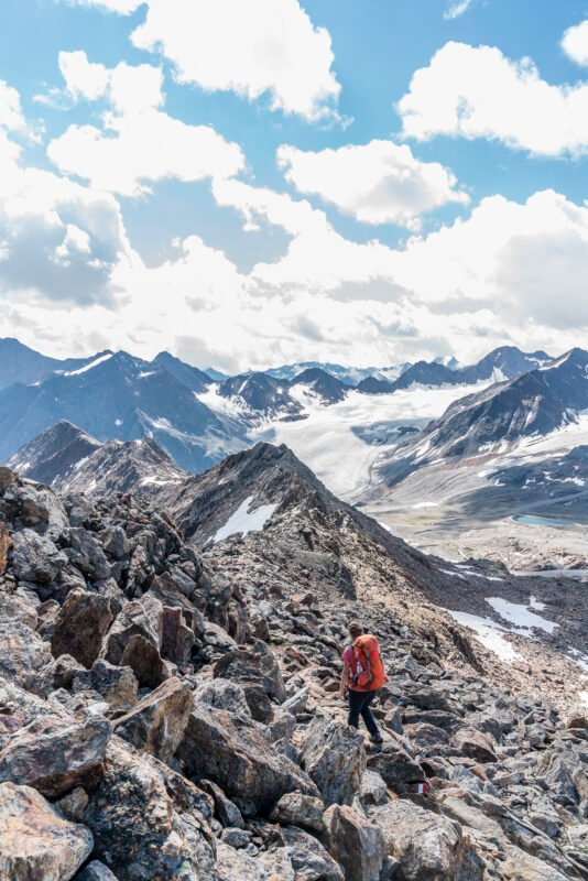 Wanderung MIttagskogel Gletscherbahn