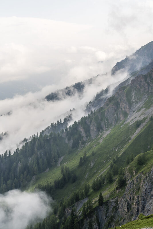 Val Ferret Wallis Nebel