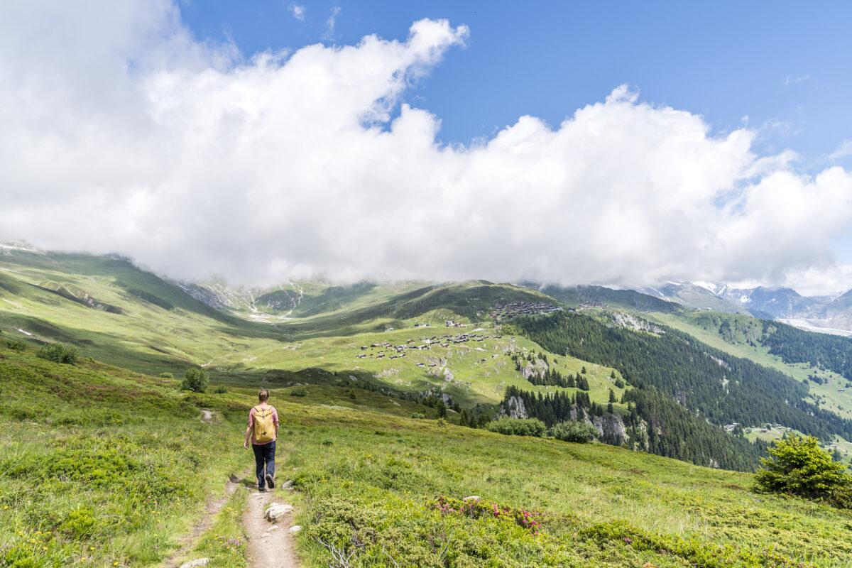 Wanderweg Nessel-Belalp