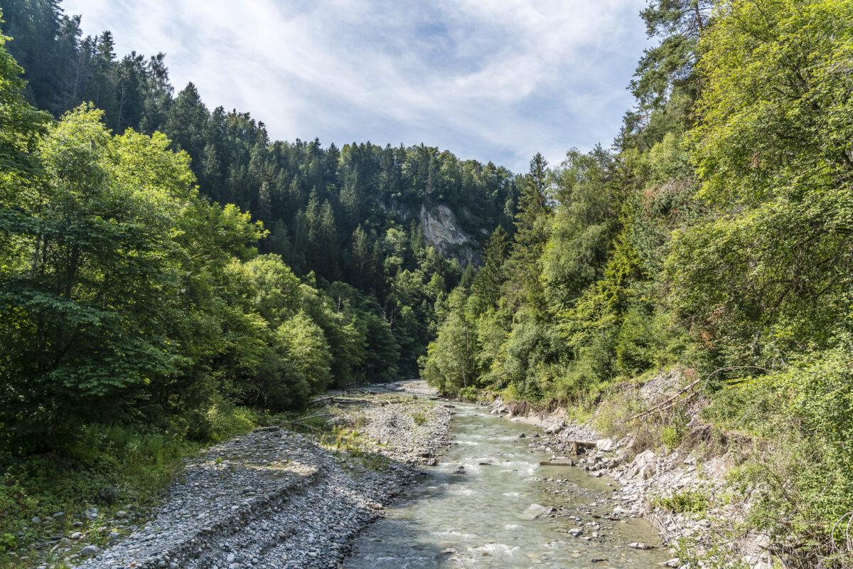 Pitztal Flussmündung