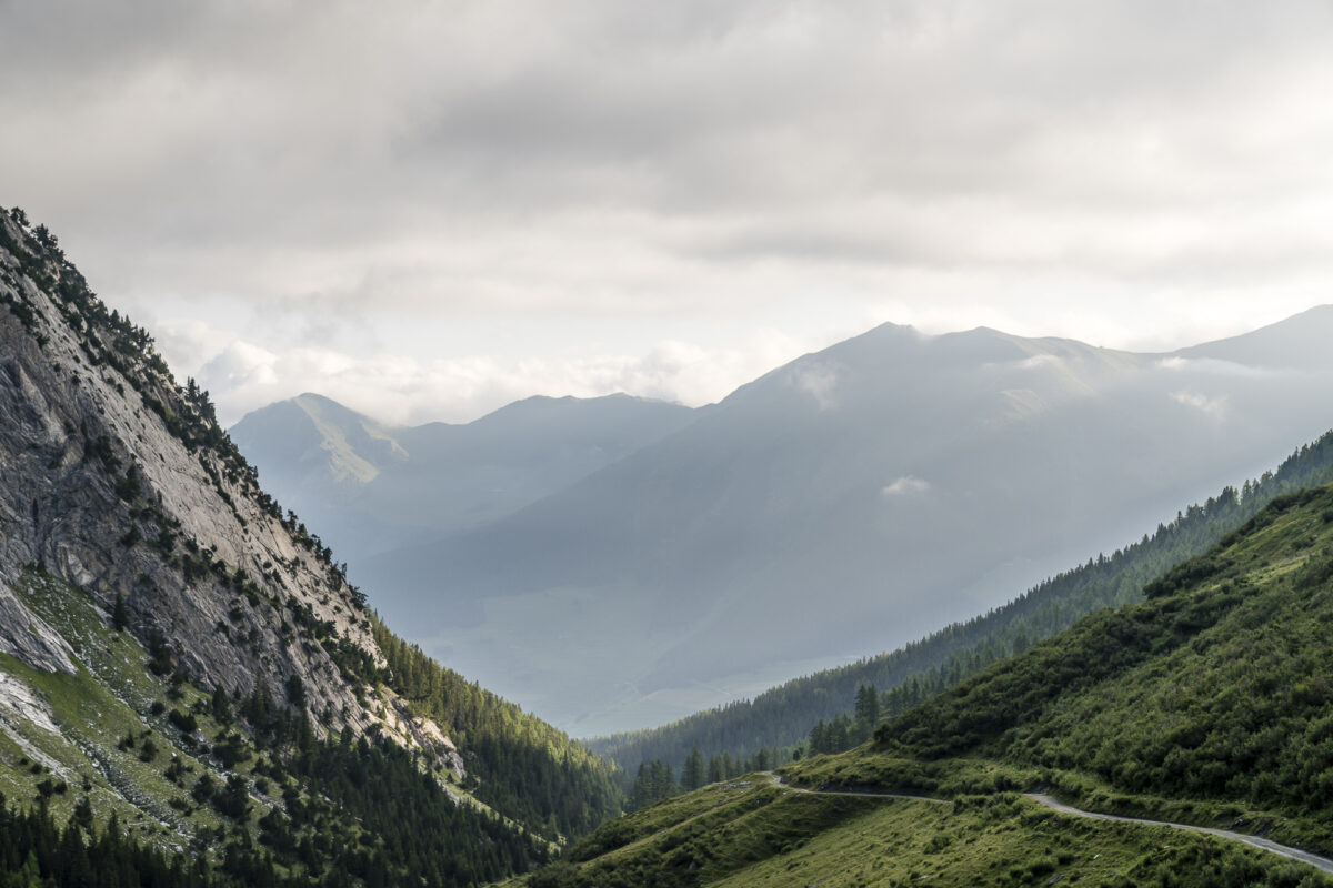 Morgenstimmung im Val d'Entremont