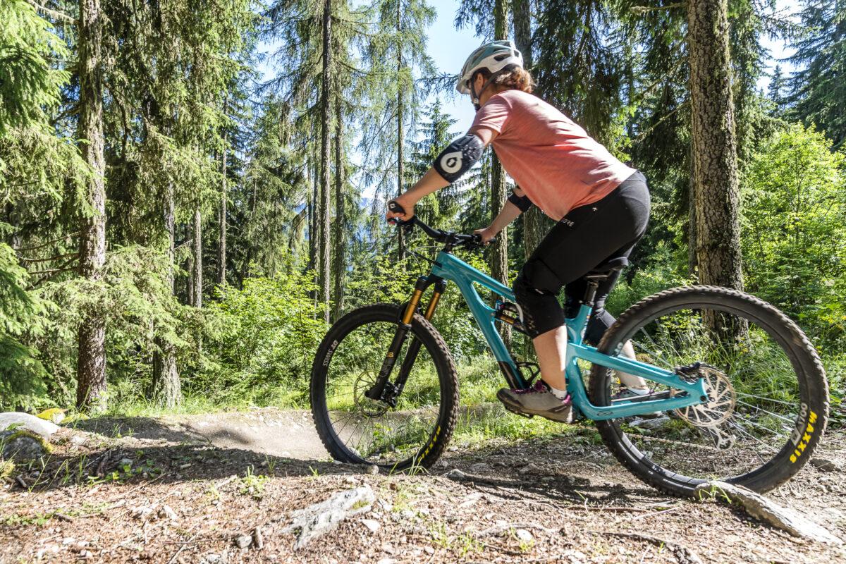 Häxutrail Biken in Blatten-Belalp
