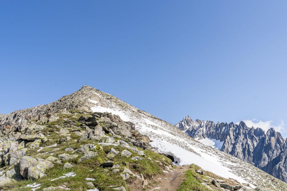 Sparrhorn Gipfel bei Blatten-Belalp