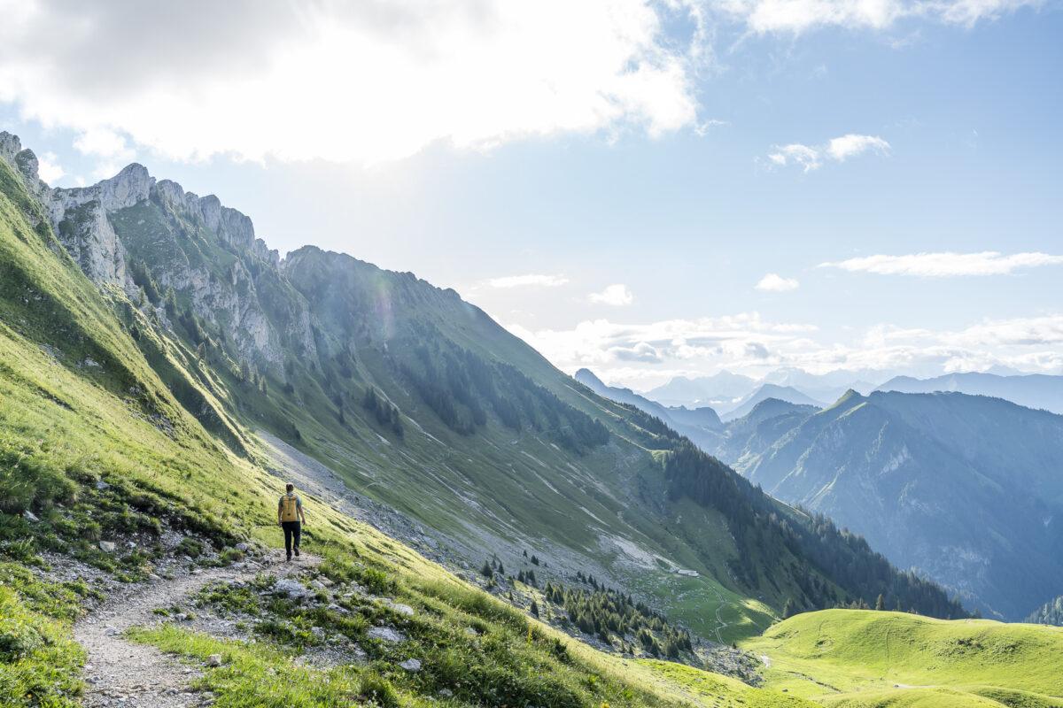 Panorama Höhenwanderung Gurnigel - Stockhorn
