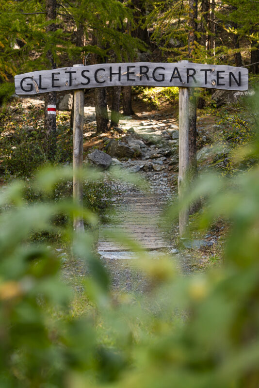 Gletschergarten Zermatt