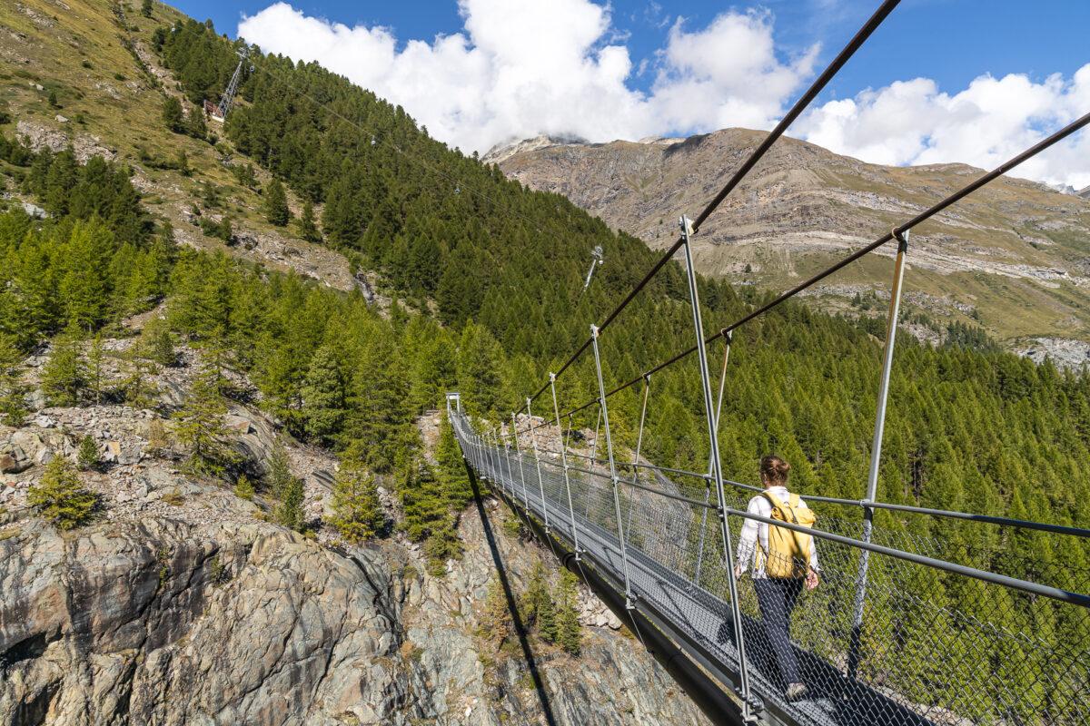Hängebrücke Gornerenschlucht