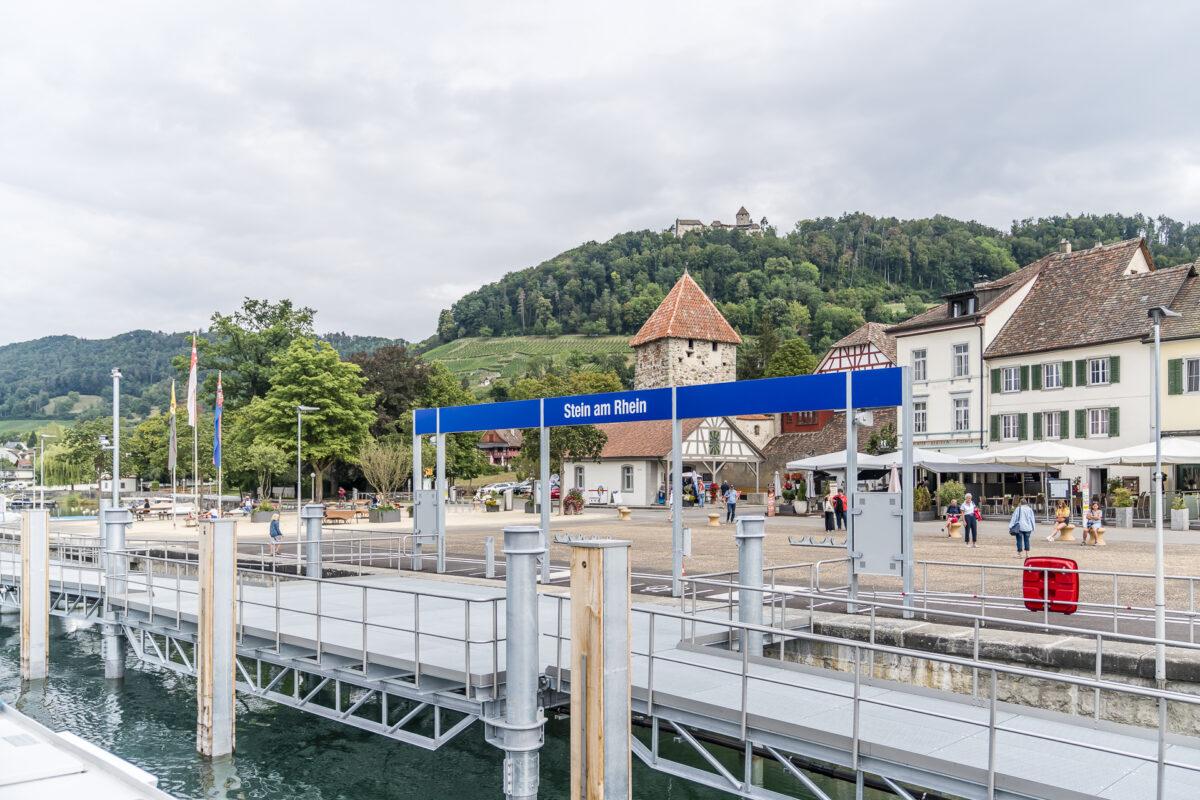 Stein am Rhein Hafen