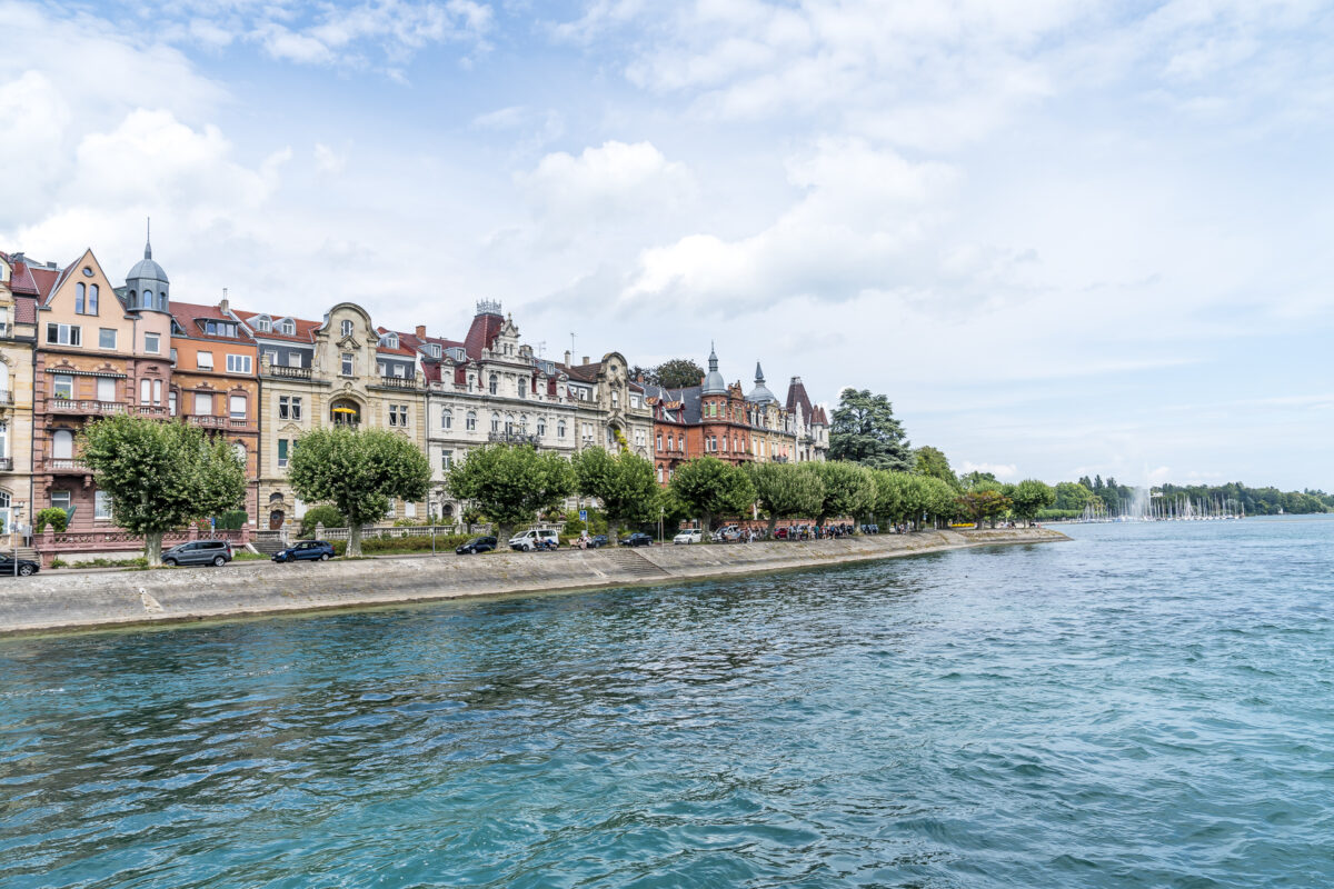 Ankunft Konstanz