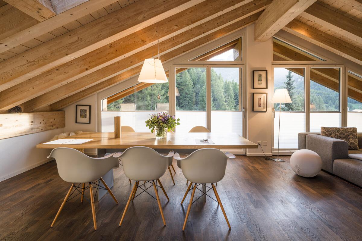 Chalet Altesse Ferienwohnung Dachgeschoss
