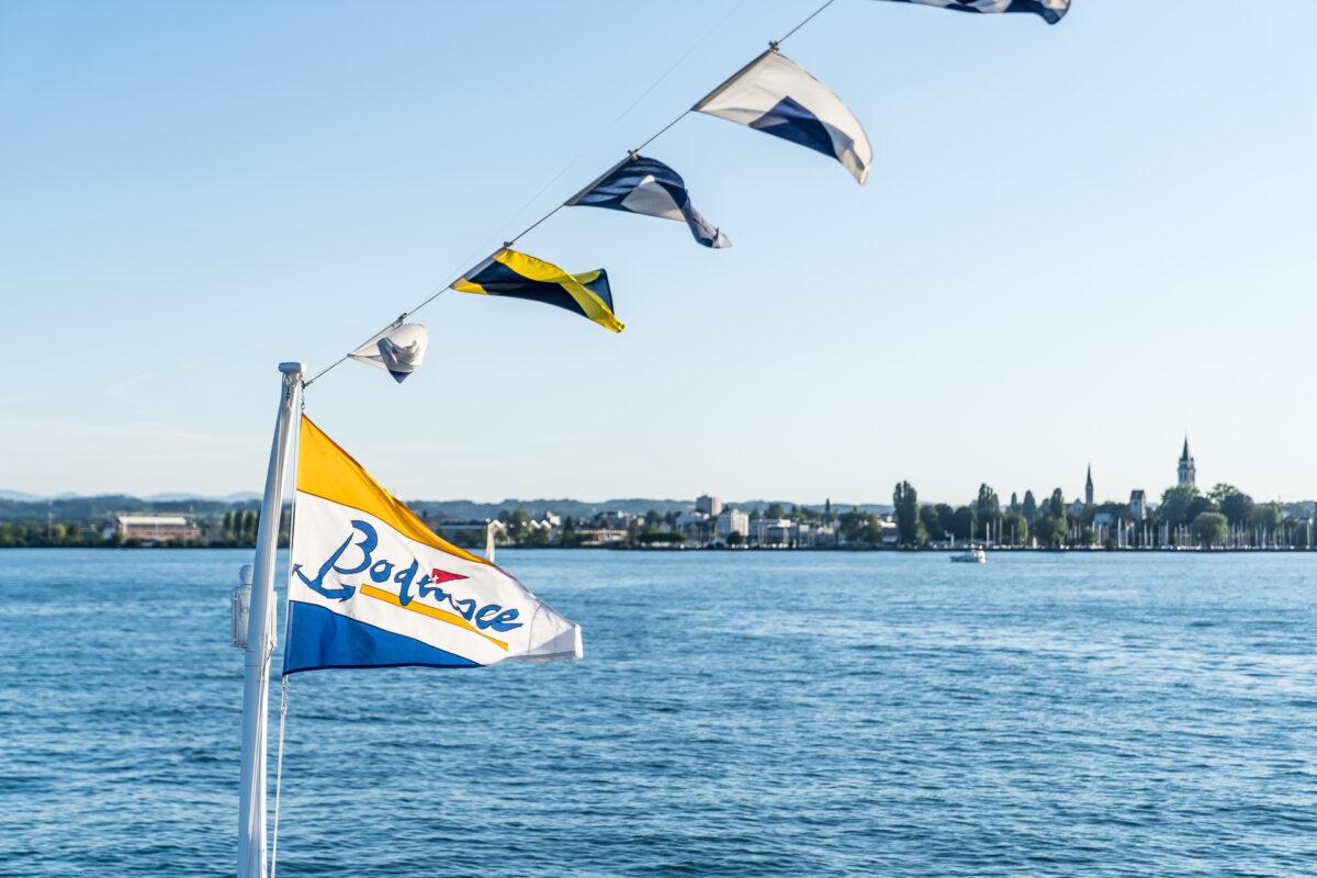 Bodensee Schifffahrt Fahne