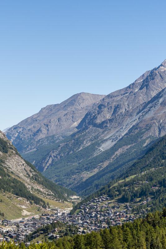 Ausblick Zermatt