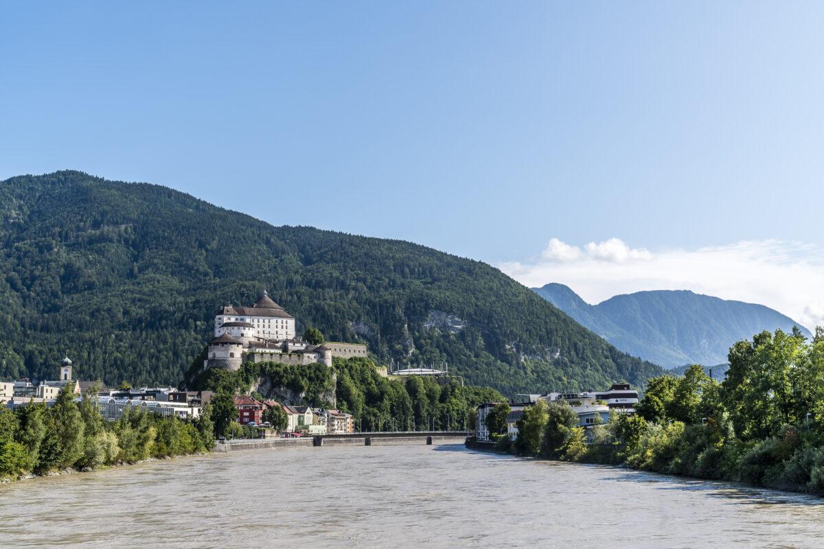 Inn Festung Kufstein Panorama