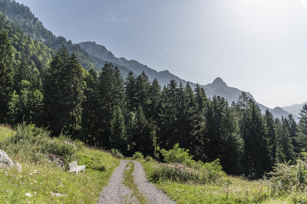 Wanderung Klostertal Bludenz