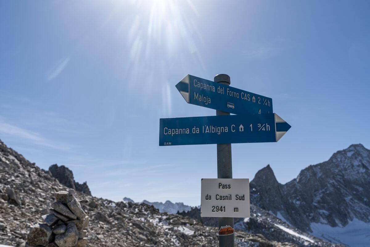 Sentiero Alpino Bregaglia Forno-Albigna