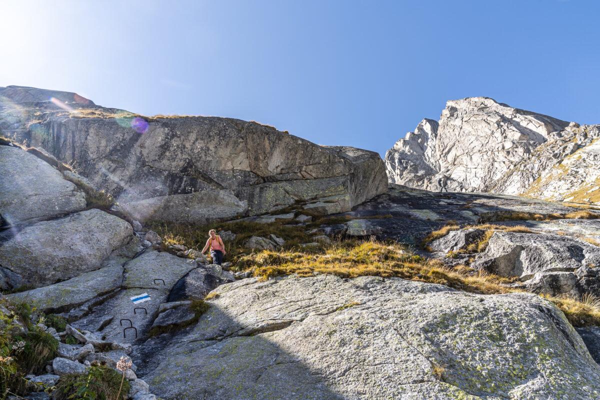 Sentiero Alpino Bregaglia Bergtour