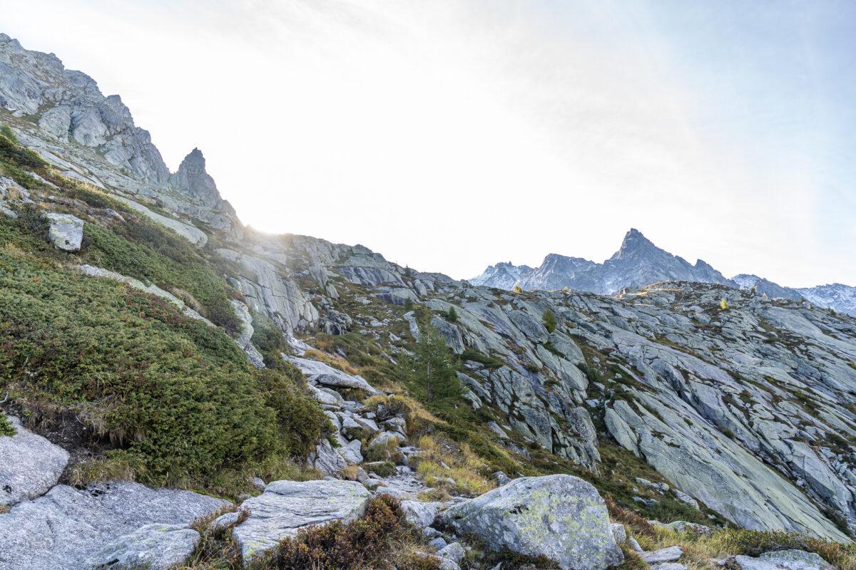 Aufstieg Albignahütte