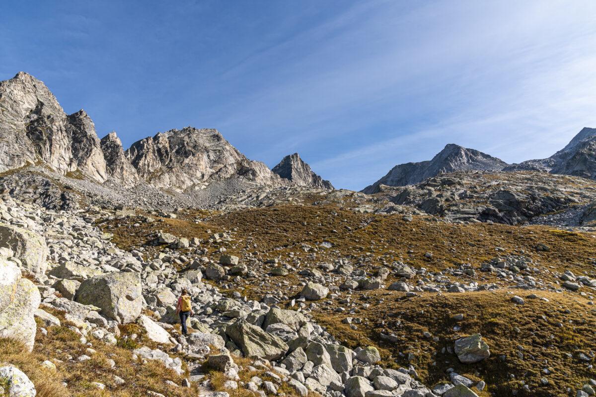 Albigna Pass da Casnil Sud