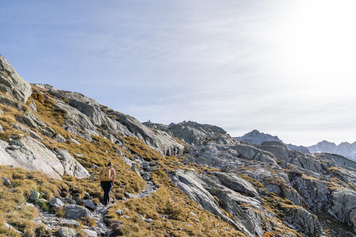 Pass da Casnil Sud Aufstieg
