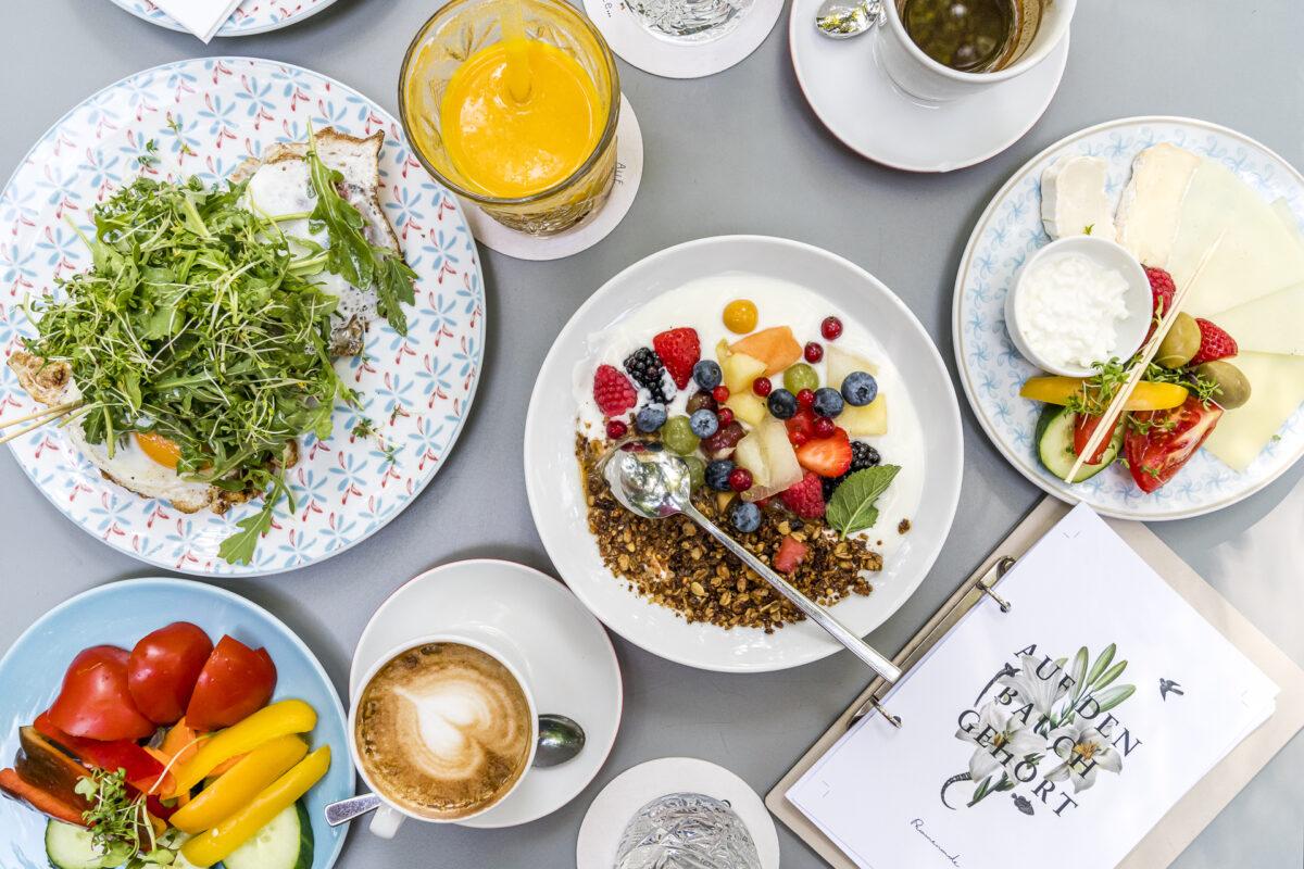 Das Promenade Graz Frühstück