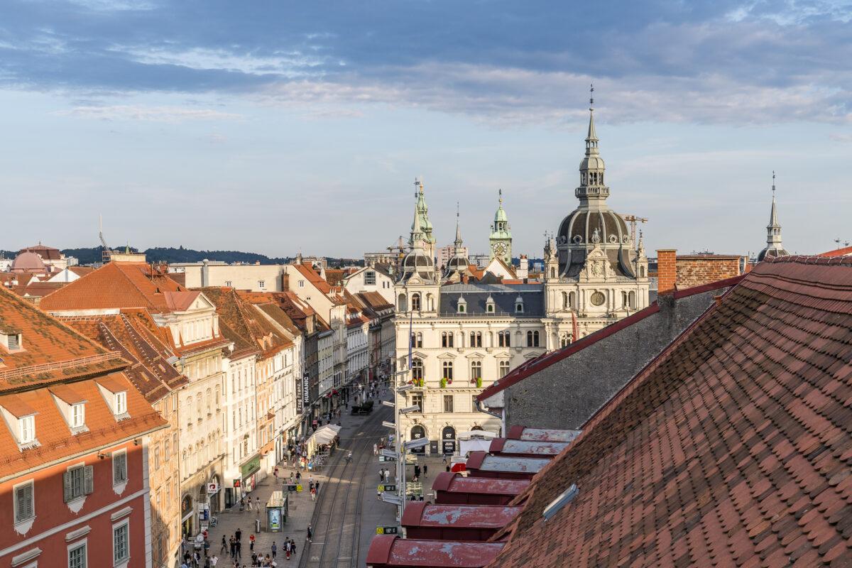 Graz Aussicht Freiblick