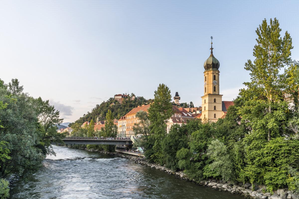 Graz Erherzog Joann Brücke