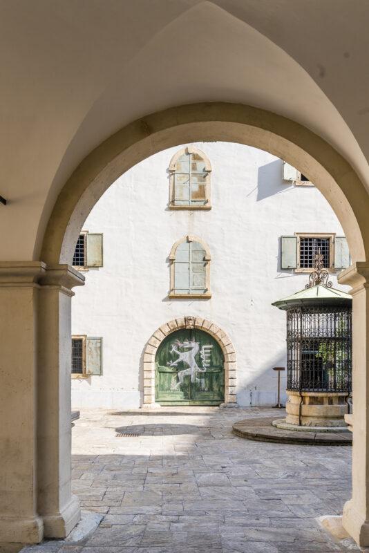 Graz Landhaushof Architektur
