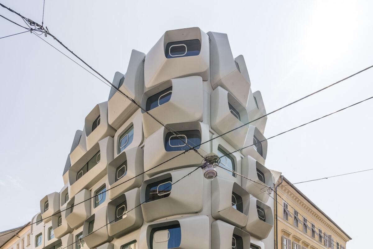 Graz Zaha Hadid Architektur