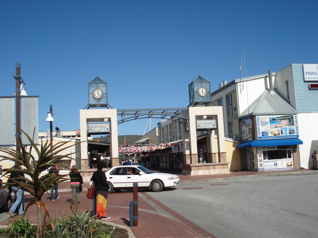 Hafengelände von Knysa